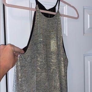 Lilac Clothing Dresses - Metallic gold/silver Dress